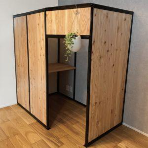組立式小部屋 Room+